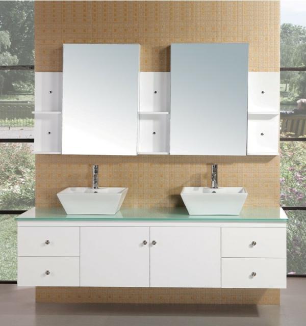 weiße-unterschränke-waschbec ken-badezimmer-schönes-design