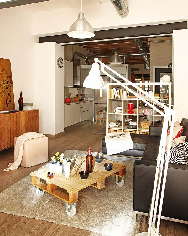 wohnideen-für- kleine-wohnung-modernes-wohnzimmer-design