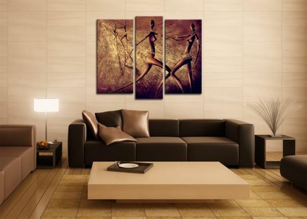 wohnung-dekorieren-elegantes-wohnzimmer-mit-schönen-bildern-an-der-wand