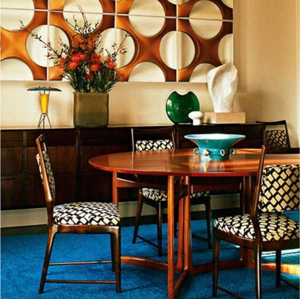wohnung-dekorieren-esszimmer-retro-design