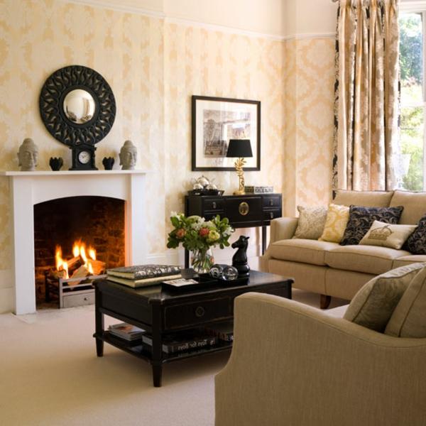 wohnung-dekorieren-wohnzimmer-mit-einem-kamin