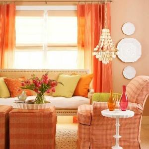 Wandfarbe Apricot - warm und gemütlich!