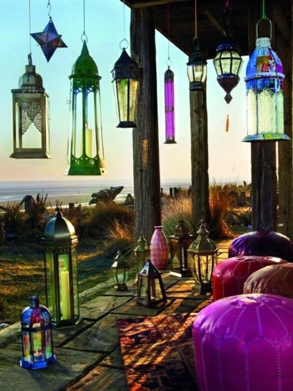 wunderbare-bunte-Laternen-für-Garten