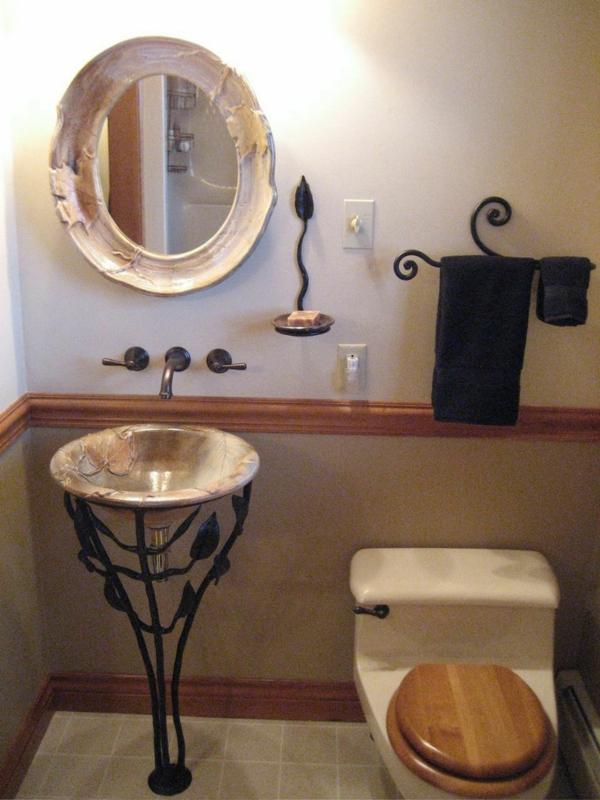 prachtvolles-badezimmer-rundes-waschbecken-warme-farben