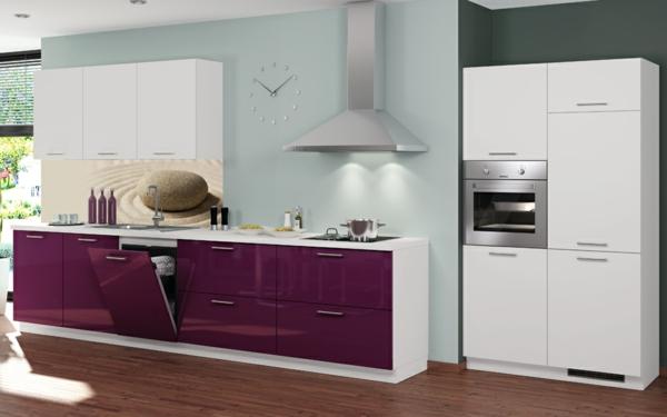 wunderschöne-wandpaneele-für-küche- blaue wand