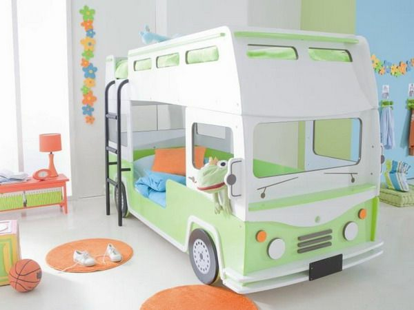 Außergewöhnliche-Betten-für-Kinder-Bus-Design-Idee