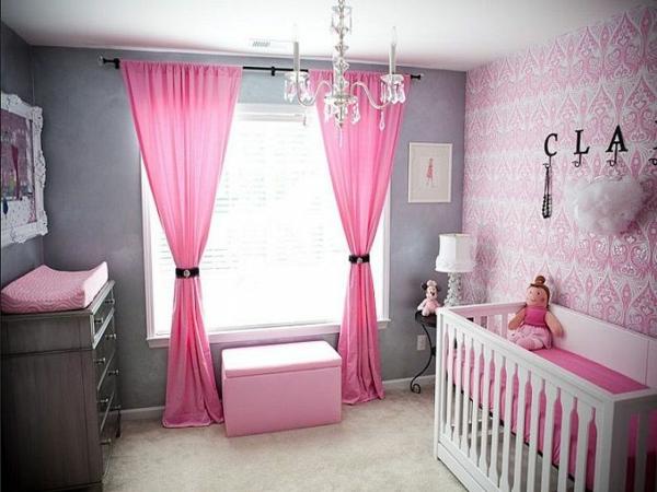 Babyzimmer Grau Rosa moderne und wunderschöne babyzimmer dekoration archzine