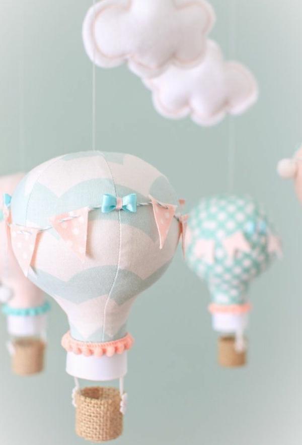 babyzimmer gestaltung ideen ballons