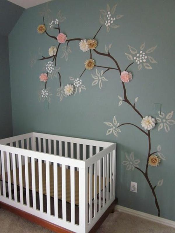 Moderne und wundersch ne babyzimmer dekoration - Gestaltung von zimmerdecken ...