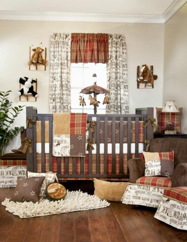 Babyzimmer-einrichten-Ideen-warme-Farben