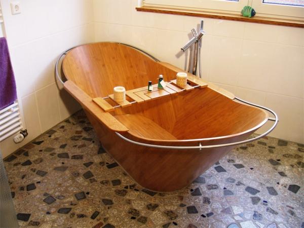 holzbadewanne coole vorschl ge. Black Bedroom Furniture Sets. Home Design Ideas