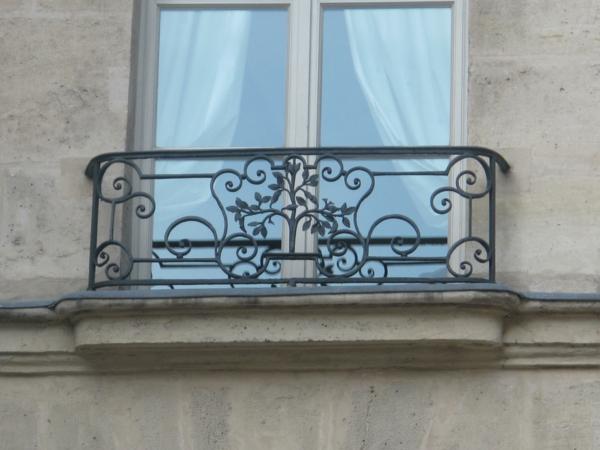 Idee Balkon Geländer