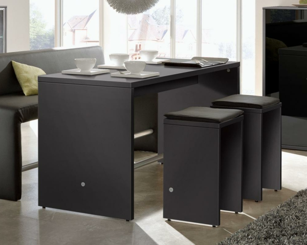 bartisch mit hocker 40 coole ideen. Black Bedroom Furniture Sets. Home Design Ideas