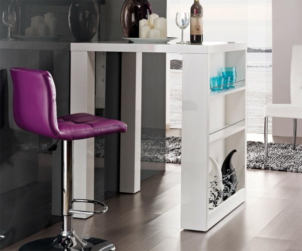 Bartisch-in-Weiß-Design-Idee