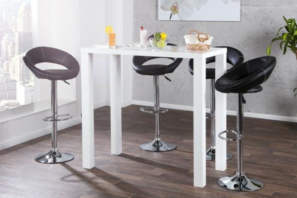 Bartisch-in-weißer-Farbe-Interior-Design-Idee
