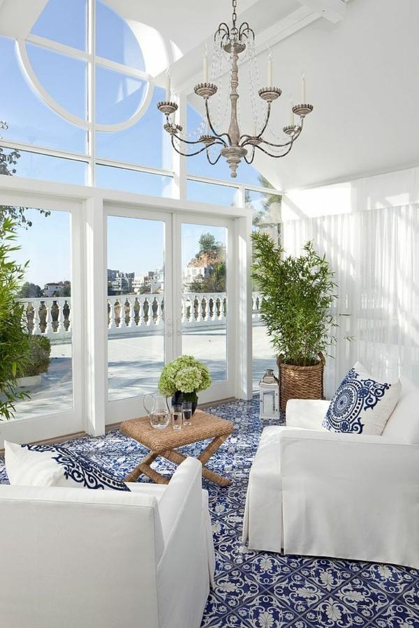 super schöne blaue teppiche! - archzine.net - Blauer Teppich Wohnzimmer