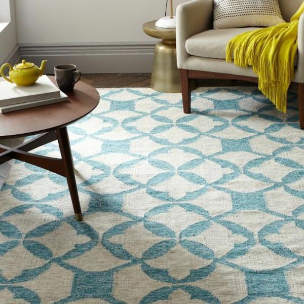super schöne blaue teppiche! - archzine, Hause ideen