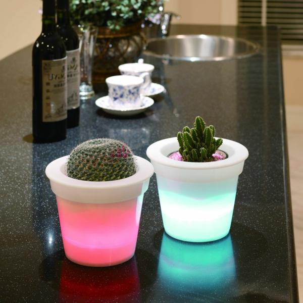 Beleuchteter blumentopf fantastische beispiele for Blumentopf ideen