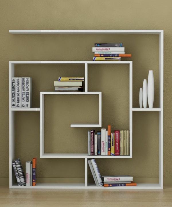 praktisches b cherregal f r zuhause. Black Bedroom Furniture Sets. Home Design Ideas