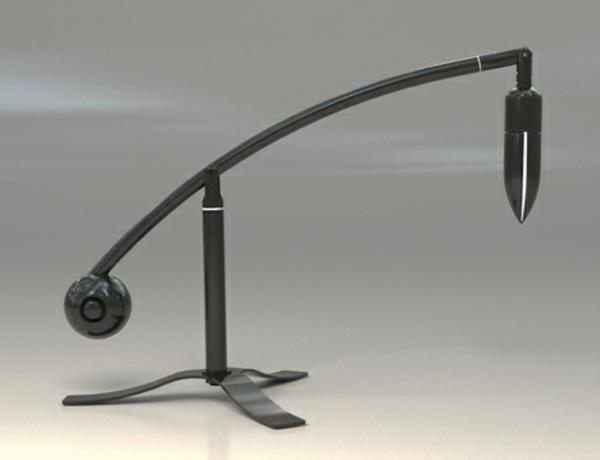 Designer-Schreibtischlampe-mit-originellem-Design-neue-Idee