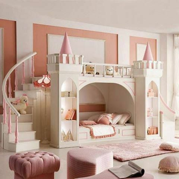 27 m rchenhafte kinderbetten. Black Bedroom Furniture Sets. Home Design Ideas