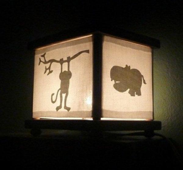 Dschungel-Thema-Lampe-fürs-Kinderzimmer-Design-Idee