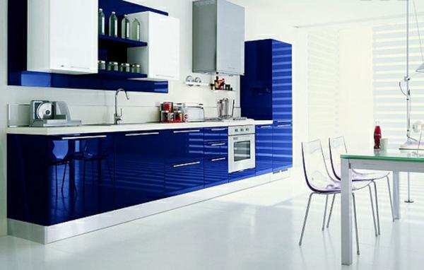 Dunkleblau-fantastische-Küchengestaltung-Design-Idee