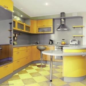 Effektvolle Küchengestaltung mit Farbe!