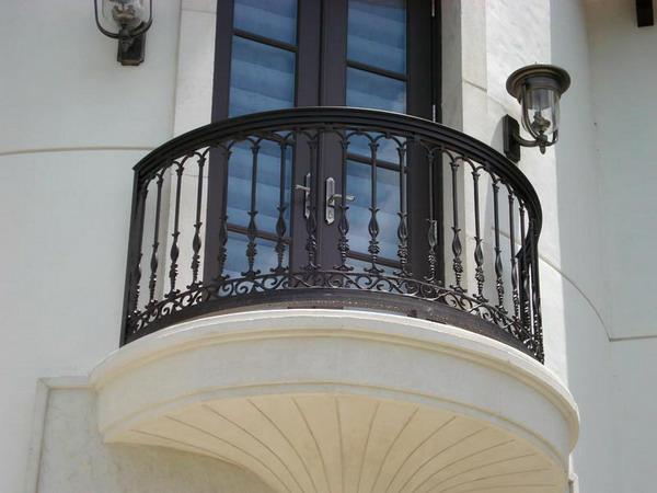 Eisen-Geländer-Balkon-Design