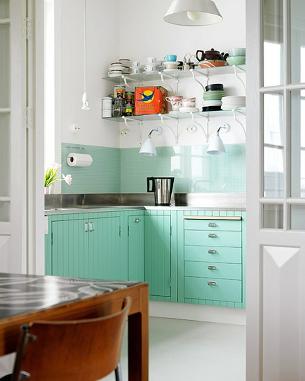 Effektvolle Küchengestaltung Mit Farbe
