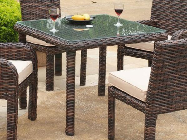 gartentisch rattan ausziehbar modern gartentisch u die besten angebote fr polyrattan. Black Bedroom Furniture Sets. Home Design Ideas