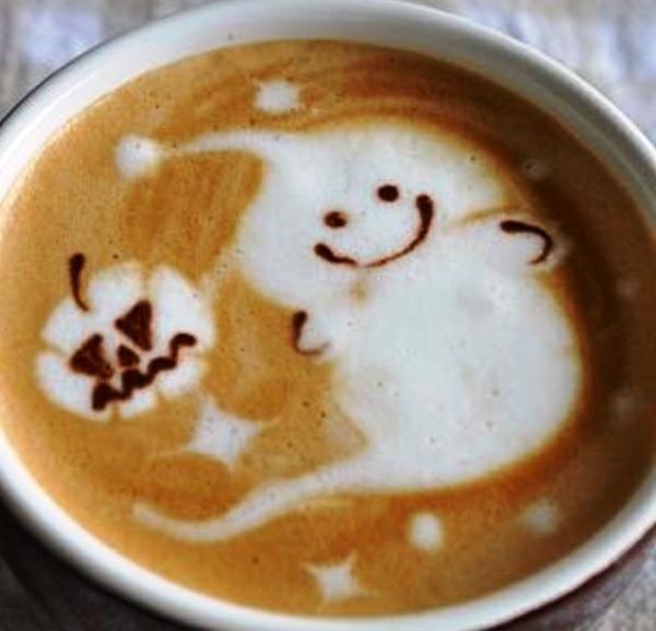 Gespenst-Tag-des-Kaffees