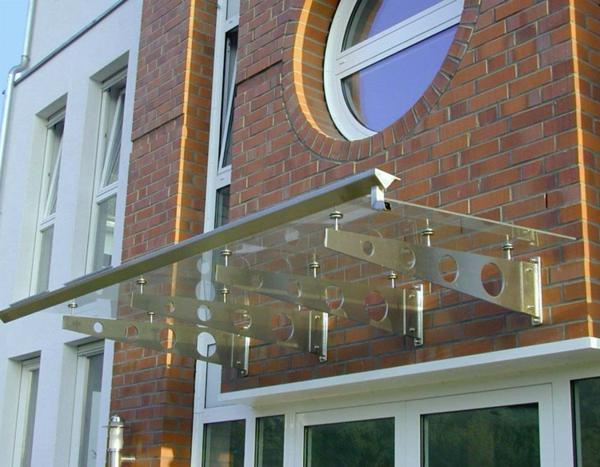 Glasvordächer-Eingang-Idee