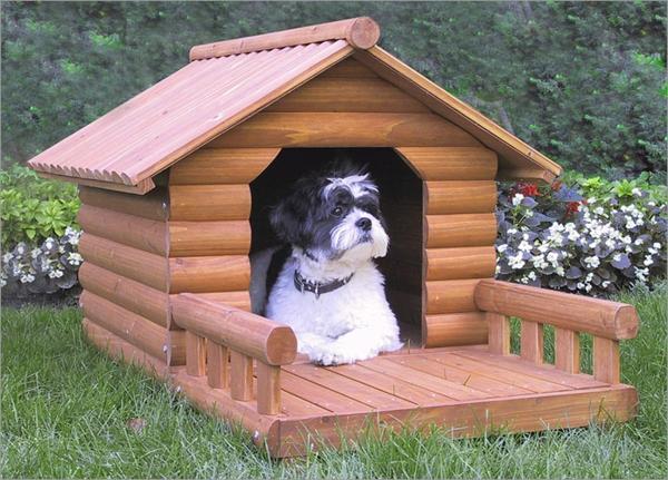 Hütte-für-den-Hund-selber-bauen