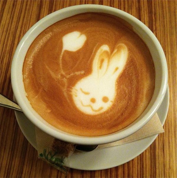 Hase-in-dem-Kaffee-machen