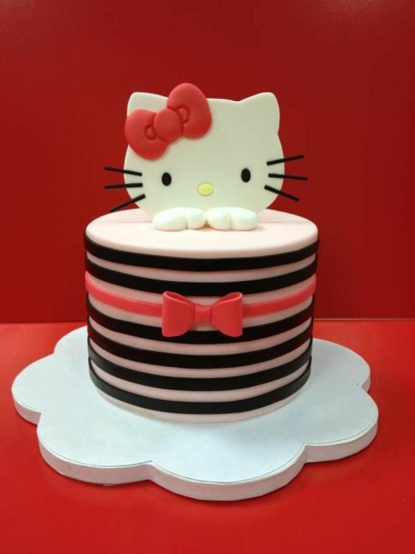 kuchen ideen hello kitty torte fur geburtstag