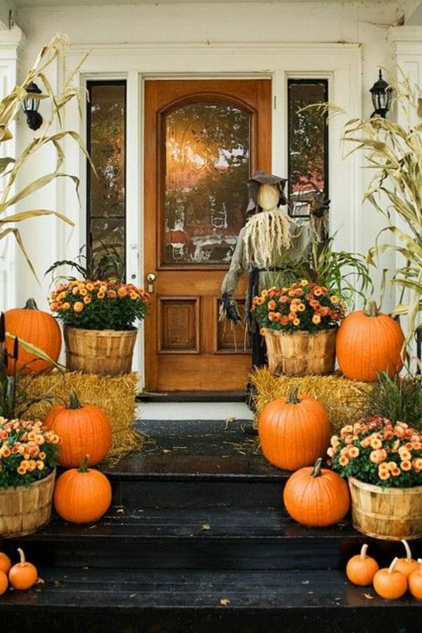Herbstliche dekoration neue sch ne vorschl ge - Herbstdeko vor dem haus ...