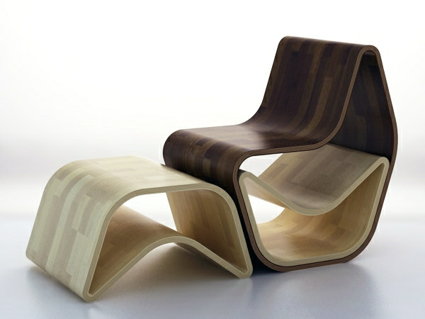 Holz-Stuhl-Moderne-Möbel-Design