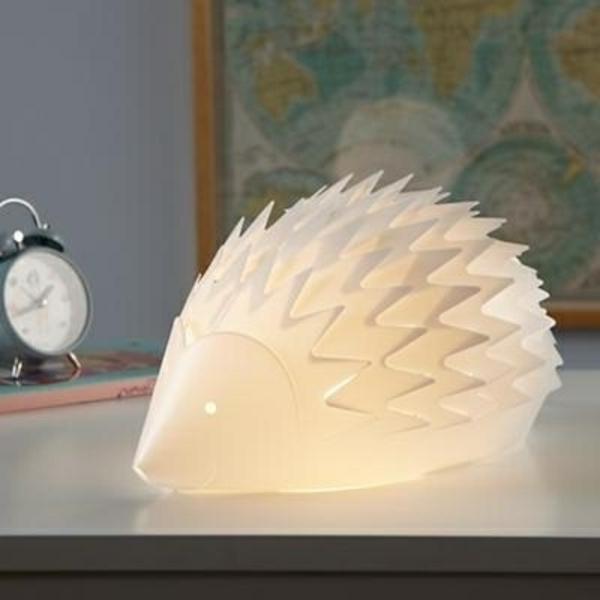 Igel-Kinderzimmerlampen-Nachlampen-Ideen