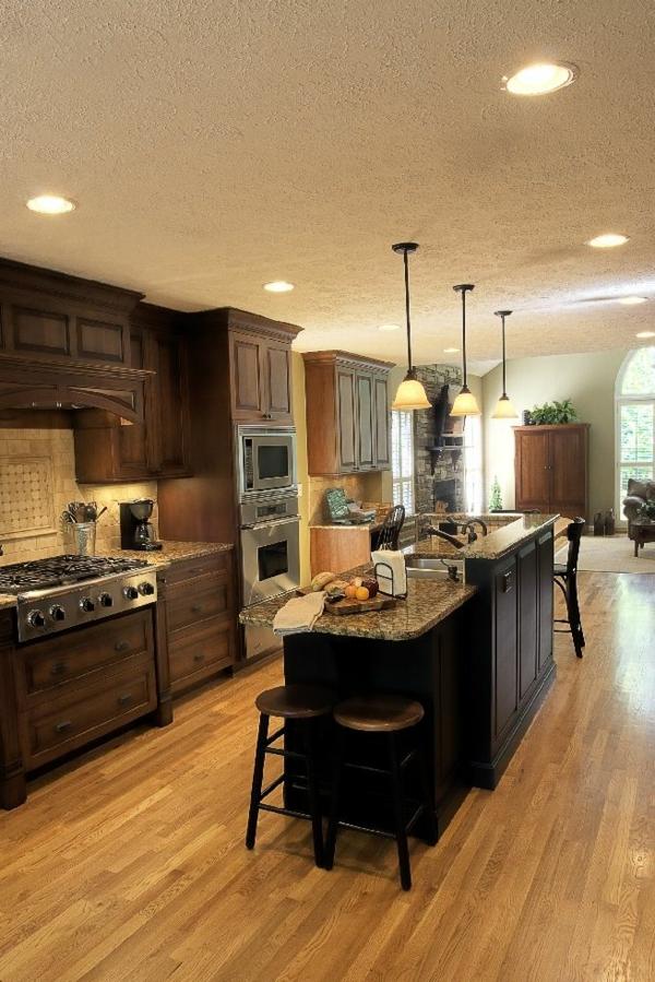 Design-Idee-Küchenbar-Hocker-Küchengestaltung