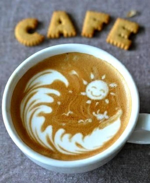 Kaffeeart-Tasse-Kaffee-Art-Idee
