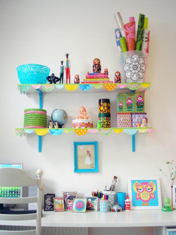 Kinder-Bücherregal-Kinderzimmer-Ideen