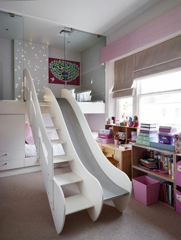 Kinderzimmer-Bett-Design