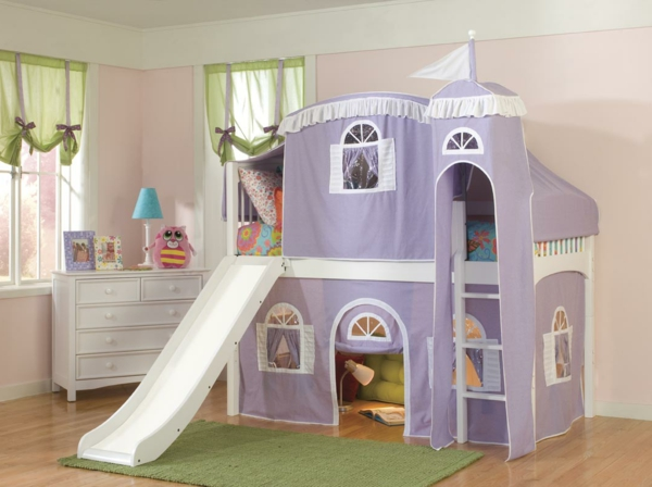 kinderzimmer mit rutsche bett kinderzimmer mit hochbett und rutsche fotos relita hochbett kim. Black Bedroom Furniture Sets. Home Design Ideas