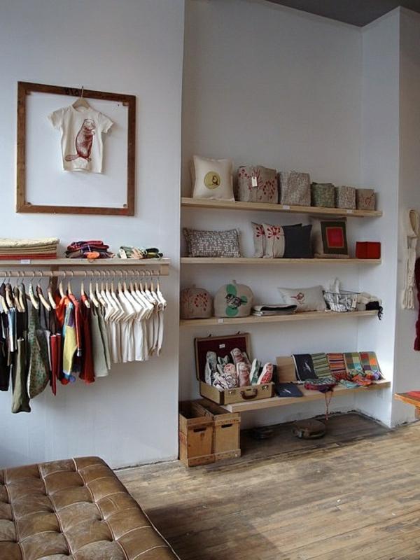 Kinderzimmer-Regal-Ideen-hölzernes-Regal-Design