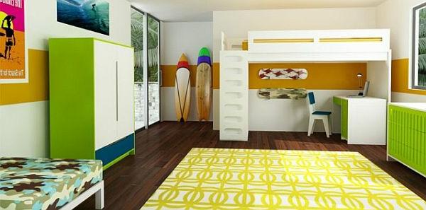 gelber teppich im hause. Black Bedroom Furniture Sets. Home Design Ideas