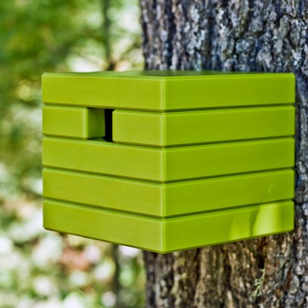 Kubus-Futterhaus-für-Vogel-Grün