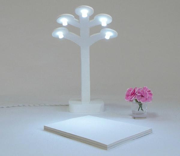 LED-Designer-Schreibtischlampen-Baum