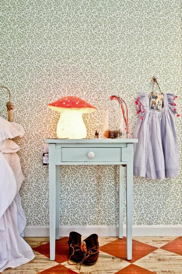 tolle-Lampe-für-das-Kinderzimmer-Pilze