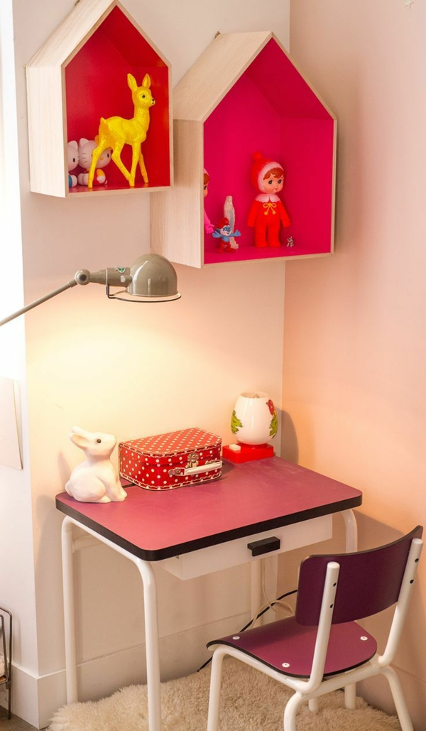 Lampen für-Kinderzimmer-Schreibtisch-Idee